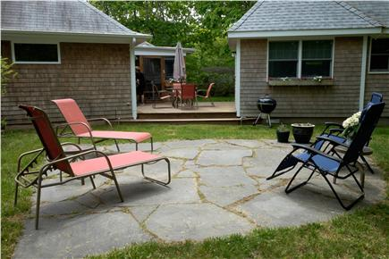 Chilmark Martha's Vineyard vacation rental - Blue Stone Patio & Deck