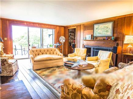 West Tisbury Martha's Vineyard vacation rental - Comfortably furnished living room perfect for entertaining