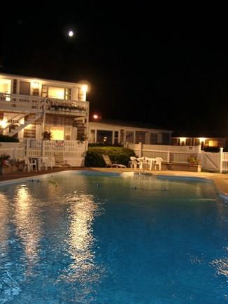 Vineyard Haven Martha's Vineyard vacation rental - Nightime Pool