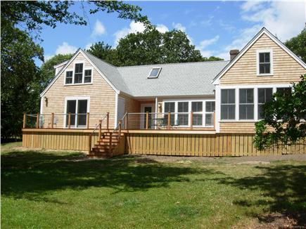 Edgartown Martha's Vineyard vacation rental - House from pond side