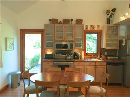 West Tisbury Martha's Vineyard vacation rental - Kitchen/dining area