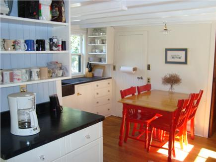 Oak Bluffs, Highlands Section of East Chop Martha's Vineyard vacation rental - Newly remodeled classic kitchen: New stove & dishwasher