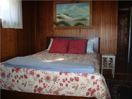 Oak Bluffs, Highlands Section of East Chop Martha's Vineyard vacation rental - Double bedroom downstairs also has sunrise and harbor view