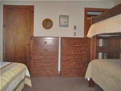West Tisbury Martha's Vineyard vacation rental - First floor bunk room