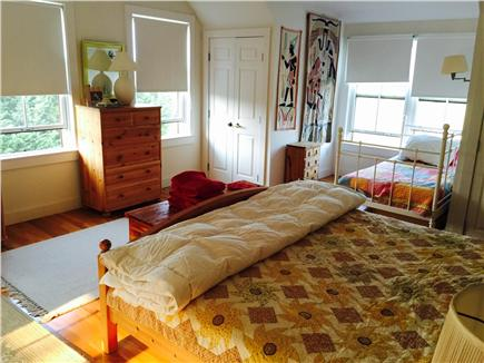Edgartown Martha's Vineyard vacation rental - One of three upstairs bedrooms with king and twin