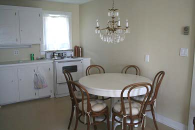 Oak Bluffs Martha's Vineyard vacation rental - Kitchen Clean! Clean! Oops, forgot to remove bag!