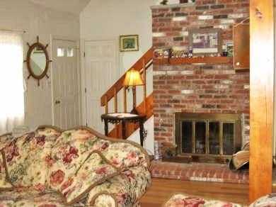 Edgartown Martha's Vineyard vacation rental - Living room with fireplace