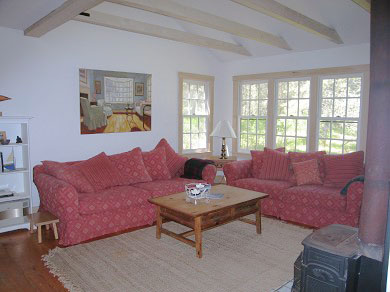 Madaket Nantucket vacation rental - Living Room