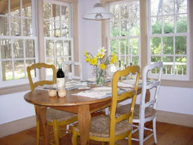 Madaket Nantucket vacation rental - Dining Area