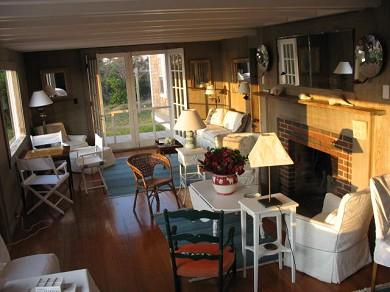 Shimmo Nantucket vacation rental - Living Room