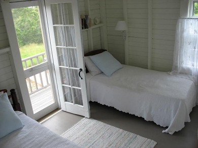Shimmo Nantucket vacation rental - West bedroom with twins