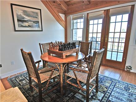 Siasconset Nantucket vacation rental - 2nd floor game room with non electronic games and puzzles.