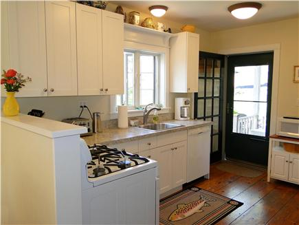 Surfside, Nantucket Nantucket vacation rental - Newly remodeled kitchen, facing back deck