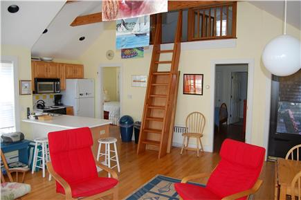 Nantucket town Nantucket vacation rental - Sitting/Kitchen area