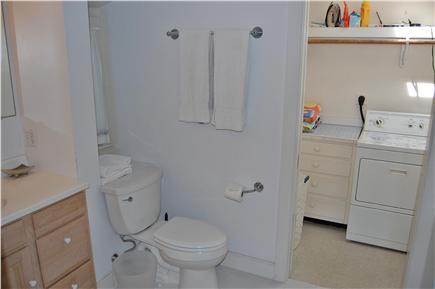 Nantucket town Nantucket vacation rental - Bathroom and laundry room off master bedroom