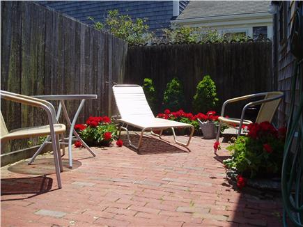 Siasconset Nantucket vacation rental - Patio