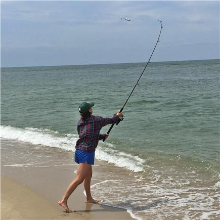 Madaket, Nantucket Nantucket vacation rental - Surf casting - blues and striper time!