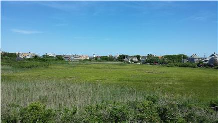 Brant Point Nantucket vacation rental - View off Deck - Ocean and Harbor scenes on either side