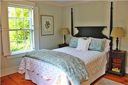Nantucket town Nantucket vacation rental - Second Master Bedroom w/King bed, hi-def TV, ensuite bath