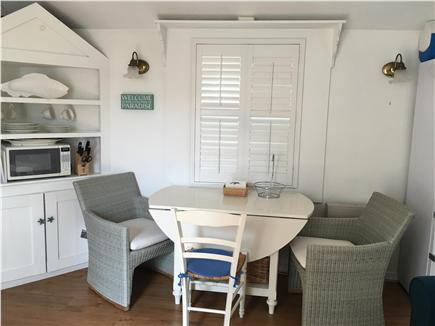 Siasconset, Sconset Nantucket vacation rental - Living and Dining area