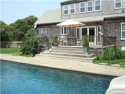 Mid-island, Edge of town Nantucket vacation rental - Pool
