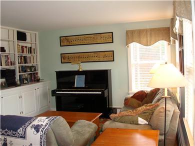 Mid-island, Edge of town Nantucket vacation rental - Living Room