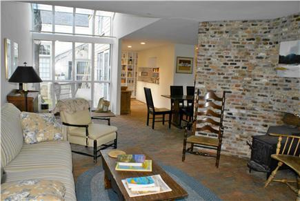 Nantucket town Nantucket vacation rental - Living Room, Atrium, Foyer