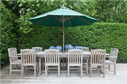 Tom Nevers, Sconset Nantucket vacation rental - Outdoor Dining Area; new outdoor shower, dining table for 10