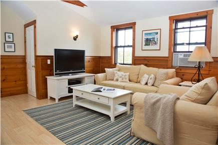 Tom Nevers, Sconset Nantucket vacation rental - Apt Living Area, flat screen TV, AC, washer & dryer, full bath