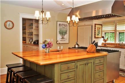Tom Nevers, Sconset Nantucket vacation rental - A Chef'sKitchen- SubZero fridge&freezer, Viking range,winefridg