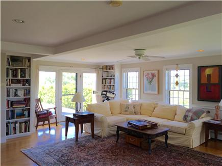 Wauwinet, Polpis Nantucket vacation rental - Living Room.