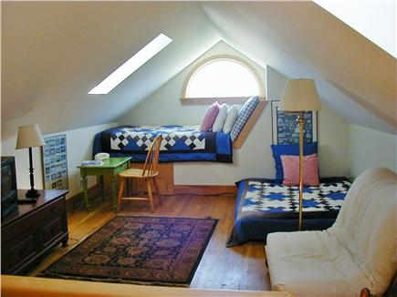 Tom Nevers Nantucket vacation rental - Third floor with two futons and sleeping bench