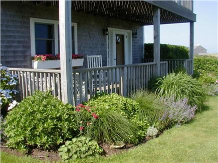 Tom Nevers Nantucket vacation rental - Front porch faces ocean