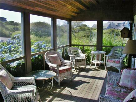 Tom Nevers Nantucket vacation rental - Screened porch