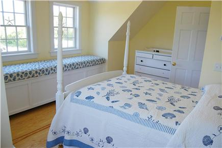 Cisco - Miacomet, Hummock Pond Nantucket vacation rental - 2nd Floor, 2nd Br, Double,10 foot gable with Window Seat