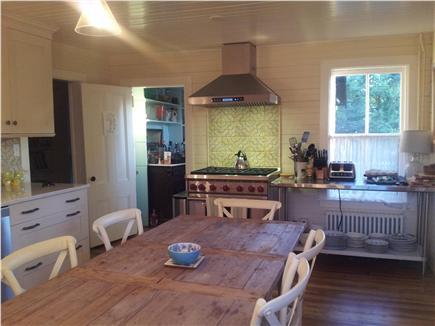 Siasconset, Nantucket Nantucket vacation rental - New professional kitchen with 6 burner Wolf range