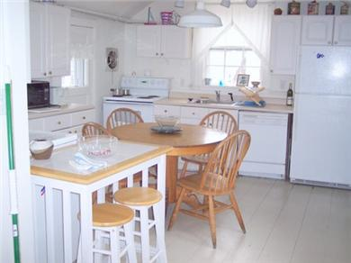 Nantucket town Nantucket vacation rental - Sunny, eat-in kitchen