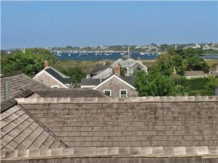 Nantucket town Nantucket vacation rental - View from 3rd floor bedroom over rooftops of Nantucket Harbor