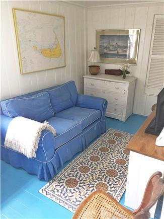Wauwinet Nantucket vacation rental - Office/tv room