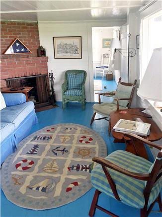 Wauwinet Nantucket vacation rental - Living Room