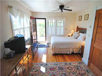 Siasconset Nantucket vacation rental - Master Bedroom on the first floor