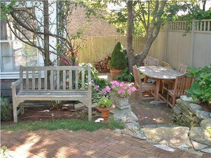 Siasconset Nantucket vacation rental - Private dining terrace