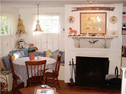 Siasconset Nantucket vacation rental - Dining Area