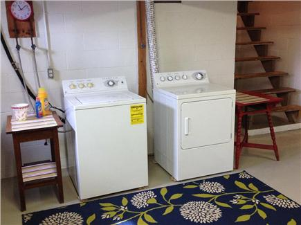 Tom Nevers, Nantucket Nantucket vacation rental - Washer & dryer in the clean, bright and dry basement