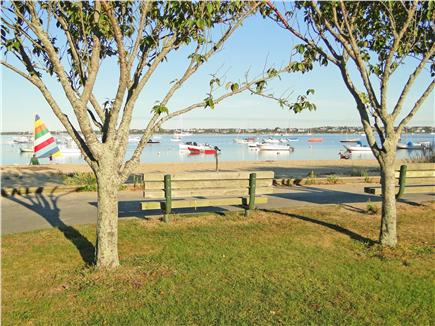 Nantucket town Nantucket vacation rental - Sandy swimming area & playground at Children's Beach- 2.5 blocks!