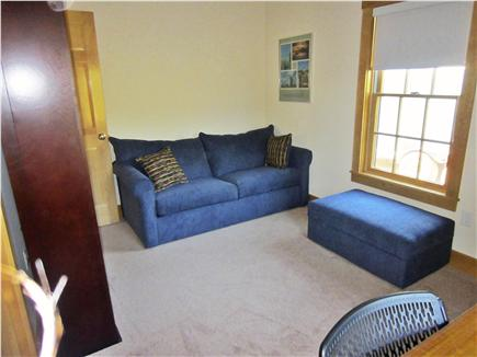 Nantucket town, Nantucket Nantucket vacation rental - Den and pull out couch.   Room has a closet, dresser, desk & TV