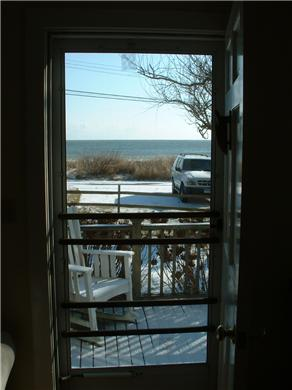 Siasconset Nantucket vacation rental - Pretty front yard with ocean view