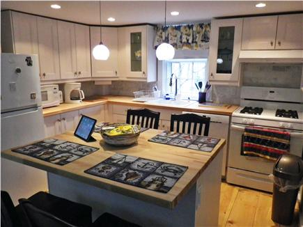 Nantucket town Nantucket vacation rental - New fully equipped kitchen with dining island