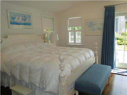 Nantucket town, Cliff Nantucket vacation rental - Lovely first floor King Master Bedroom. En suite marble bathroom
