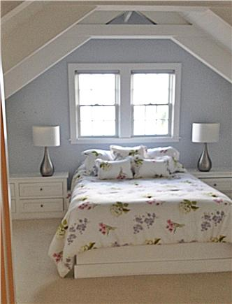 SURFSIDE Nantucket vacation rental - Upstairs master with built-ins, bath w/rain showerhead,skylight